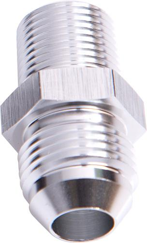 """Aeroflow AF816-20-16S Male Flare -20an To 1"""" Npt Silver Adapter Sparesbox - Image 1"""