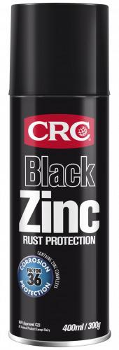 CRC Black Zinc Rust Protection Aerosol Spray 300g Sparesbox - Image 1