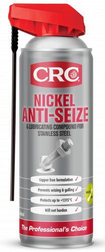 CRC Nickel Anti-Seize Lubricant For Stainless Steel Aerosol Spray 400ml Sparesbox - Image 1