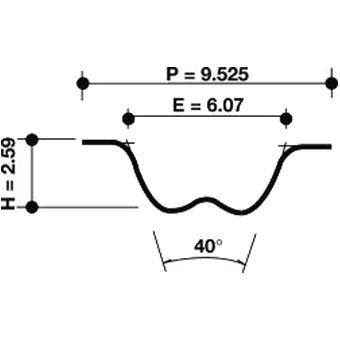 Dayco Timing Belt 941008 Sparesbox - Image 1