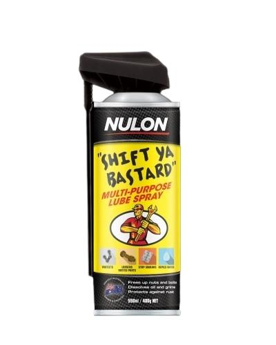Nulon Shift Ya Bastard Multi Purpose Lube Aerosol Spray 150g Sparesbox - Image 1